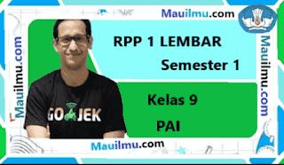 download-rpp-1-lembar-pai-kelas-9-smp-semester-2-kurikulum-2013