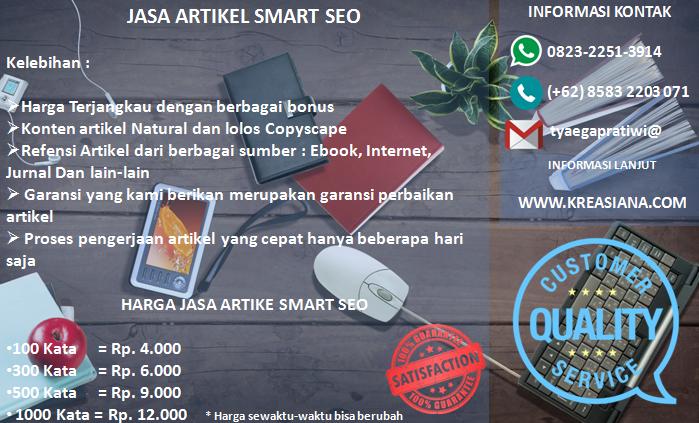 Jasa Artikel Smart SEO