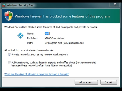 How to fix Windows Firewall Has Blocked Some of the Features of This Program
