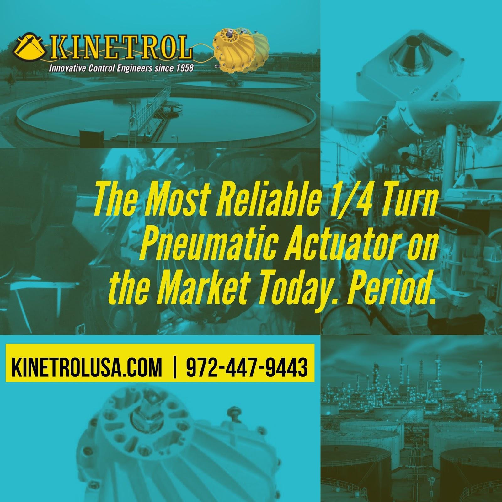 Kinetrol Pneumatic Rotary Vane Actuator Blog: automation