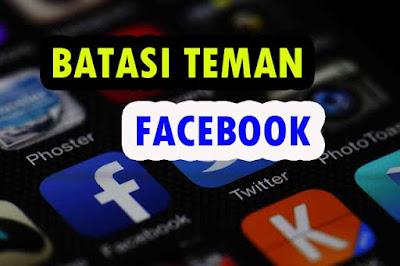 Cara Membatasi Teman Agar Tidak Melihat Postingan di Facebook dengan Fitur Dibatasi