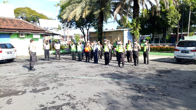 Kodim Sragen - Bagini Upaya Pengamanan Di Pos Pam 06 Pilangsari