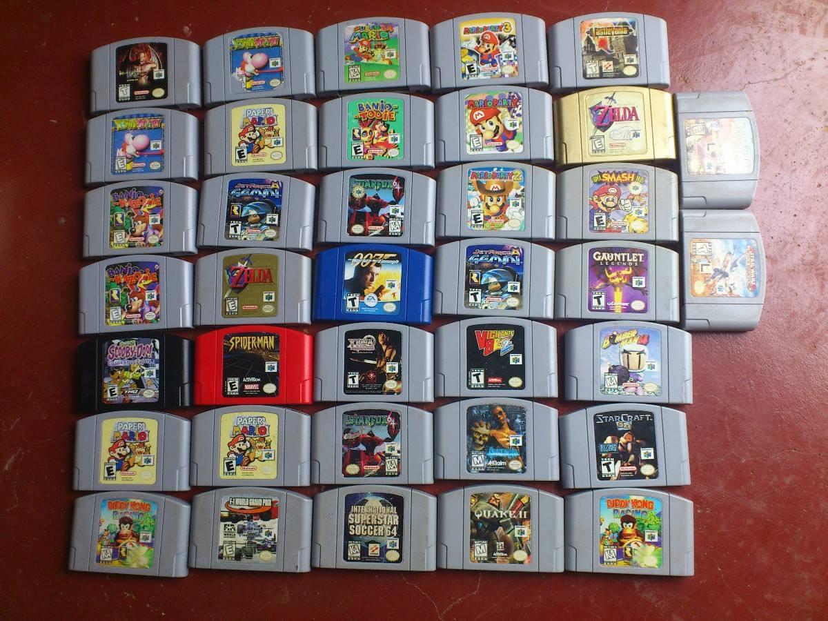 Gente Friki Nintendo 64