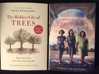 The Hidden Life of Trees and Hidden Figures from RJ Julia (WildmooBooks.com)