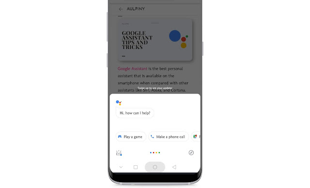 Activate Google Assistant Quickly