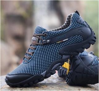 مراجعة : حذاء رياضي خفيف ومضاد للانزلاق والمياه Hiking Sports Shoes Anti-slip