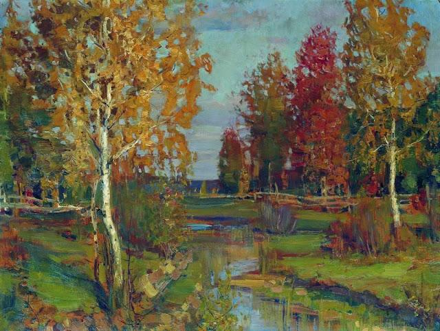 Исаак Ильич Левитан - Осень. 1890-е