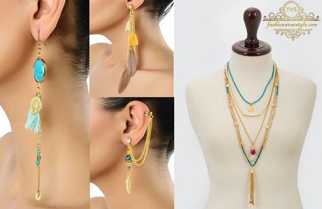 Khaadi Jewelry Trends www.fashionwearstyle.com
