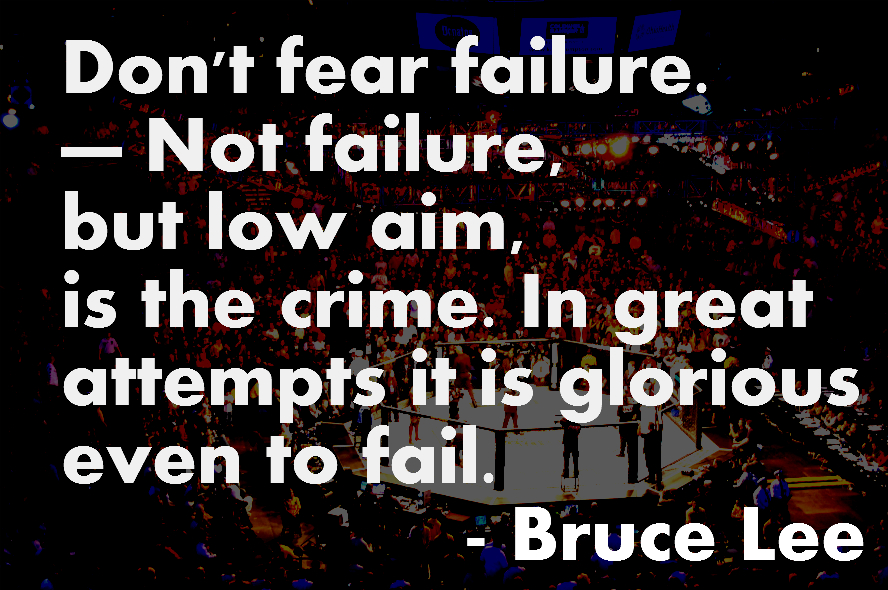 Inspirational Quotes About Failure: Motivational Quotes With Pictures (many MMA & UFC): Quotes