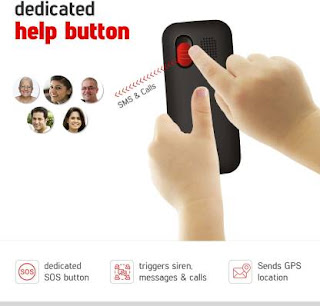 Phone for kids with dedicated help SOS button
