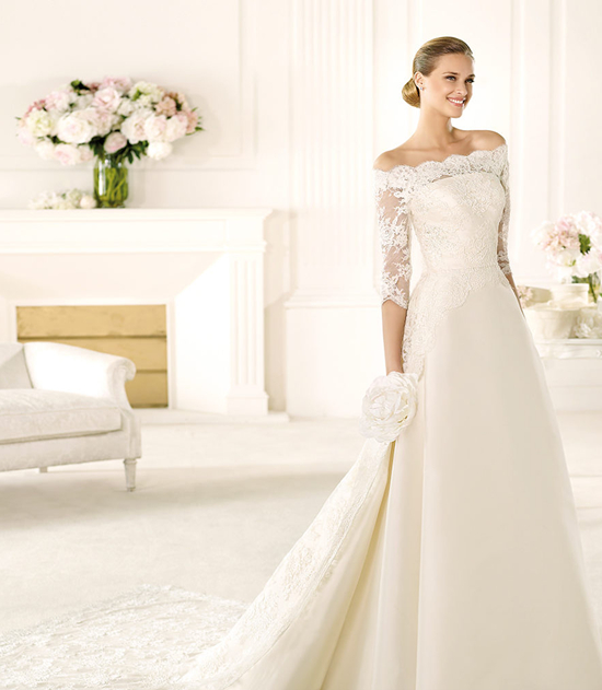Spanish Wedding Dresses: Runway Fashions About Weddings: Inspired Pronovias Wedding