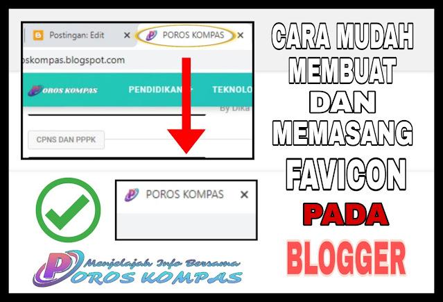 Cara Mudah Membuat Dan Memasang Favicon Pada Blogger Terbaru