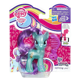 MLP Pearlized Singles Wave 3 Sapphire Joy Brushable Figure