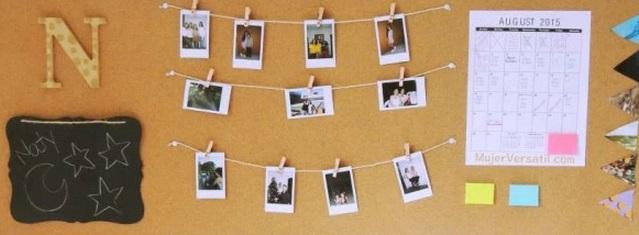 Colocar actividades y fotos