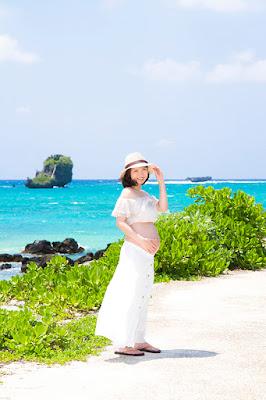 沖縄マタニティビーチフォト出張撮影