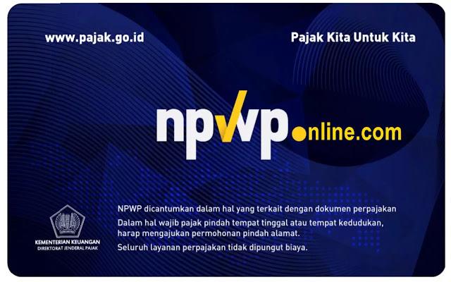 Daftar NPWP Online Sesuai Kota