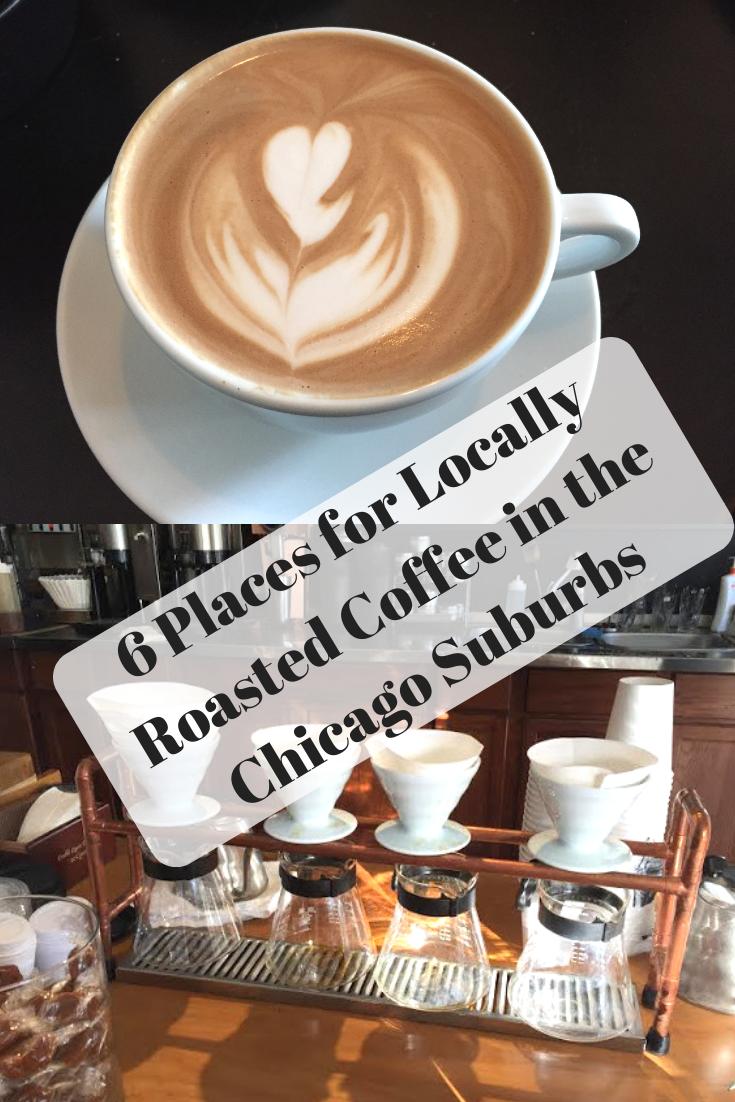 Chicago Area Coffee Shops - Magazine cover