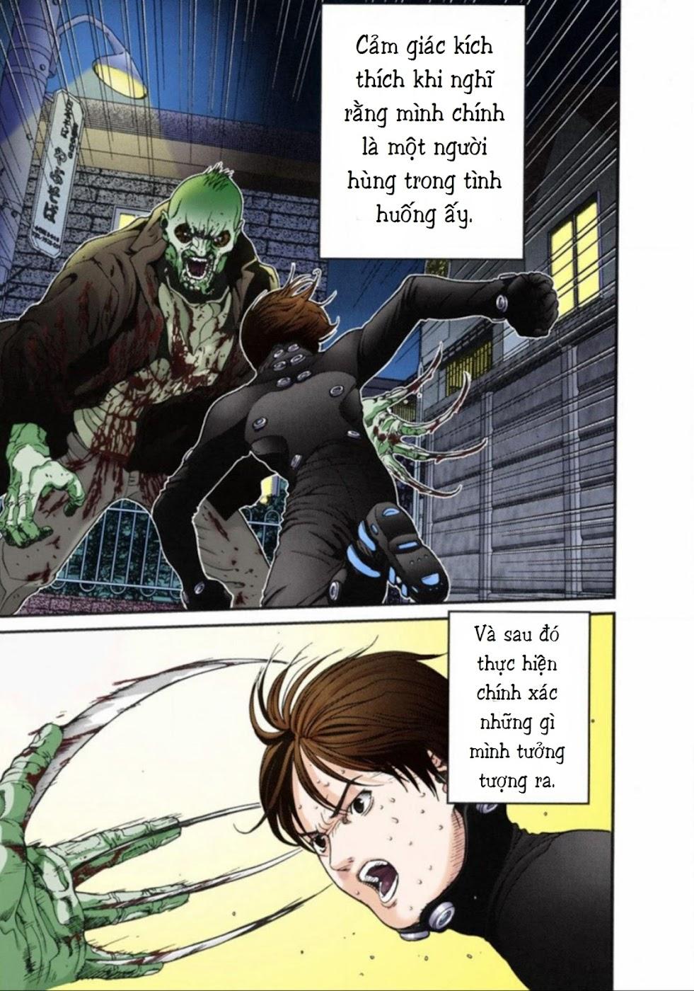 Gantz Chap 14: Không sợ trang 15