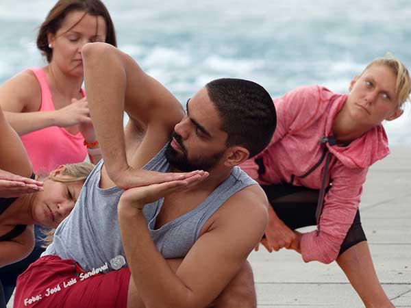 Sábado de Yoga en La Puntilla, Las Canteras