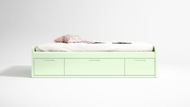 BLOG DORMITORIOS JUVENILES.COM: ¿Cuánto ocupa una cama nido o ...