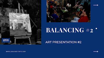 Presentasi karya di Loca Institute Tahap 2