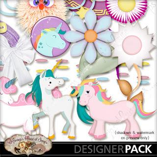 "December Monday Freebie #2 - ""Believe in Unicorns"""