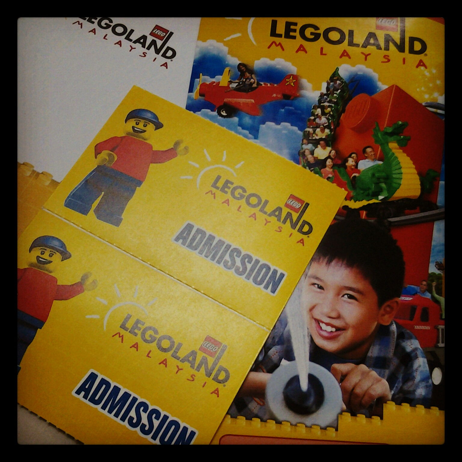 Semua Tentang Ria.: Tiket Legoland Malaysia.