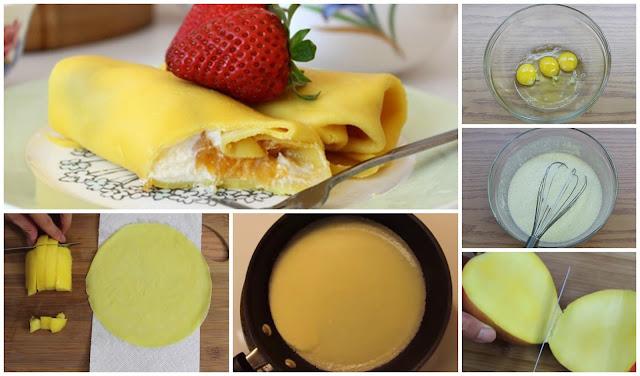 Pancake Mangga