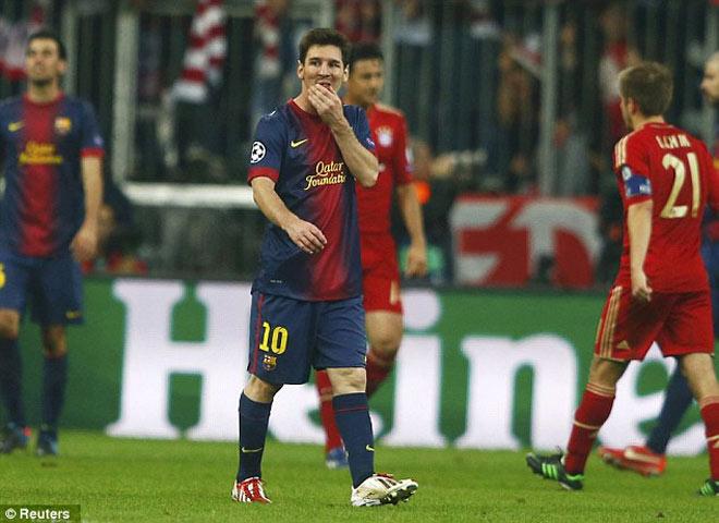 Barca đấu Bayern Munich: Messi - Lewandowski đọ tài & bi kịch 0-7