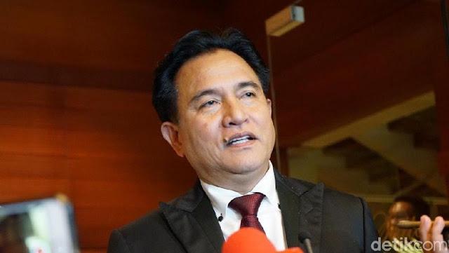 Yusril: Tudingan Ada Kecurangan TSM di Pemilu Hanya Asumsi Kubu Prabowo