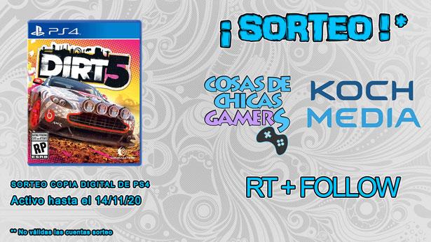 Sorteo Dirt 5 para PS4