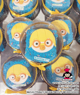 Souvenir Ulang Tahun Mini Cake Pororo