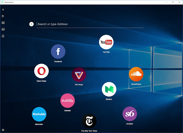 Opera Neon Browser