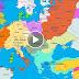 Mapa da Europa: Ano 1000 DC até hoje