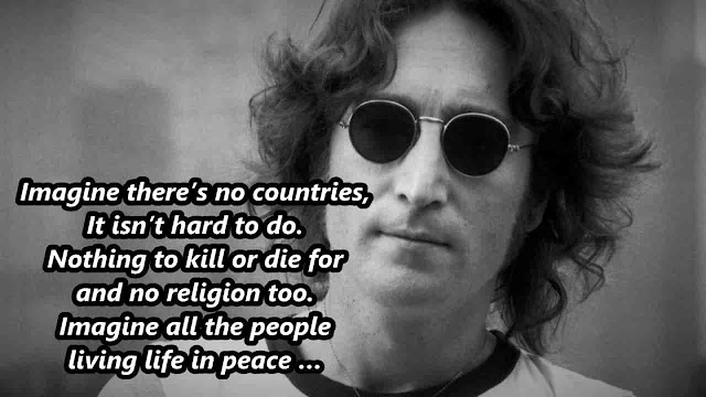 Imagine lyrics-john Lennon
