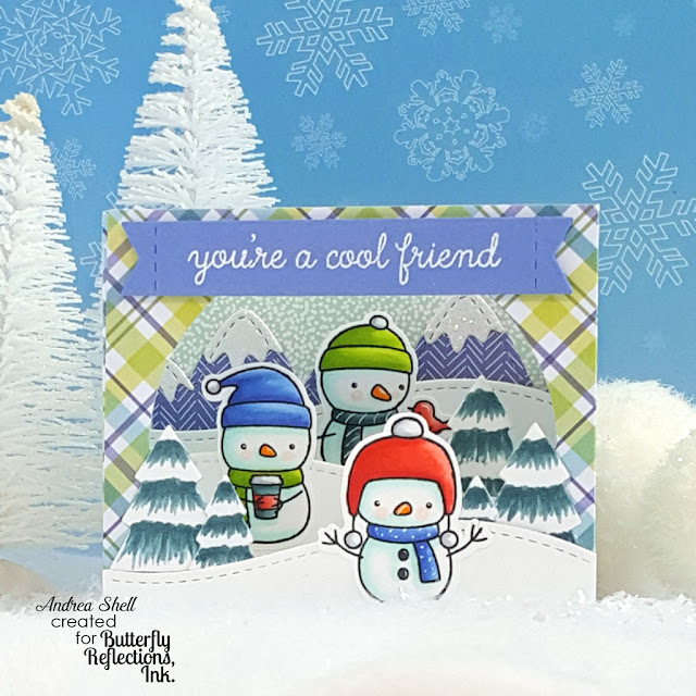 Frosty Friends Box Card by Andrea Shell