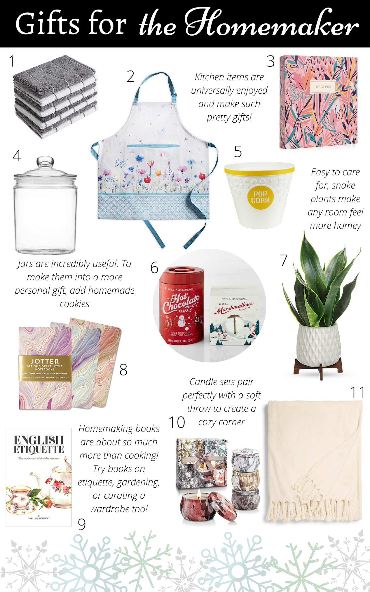 Gift Guide: for the Homemaker
