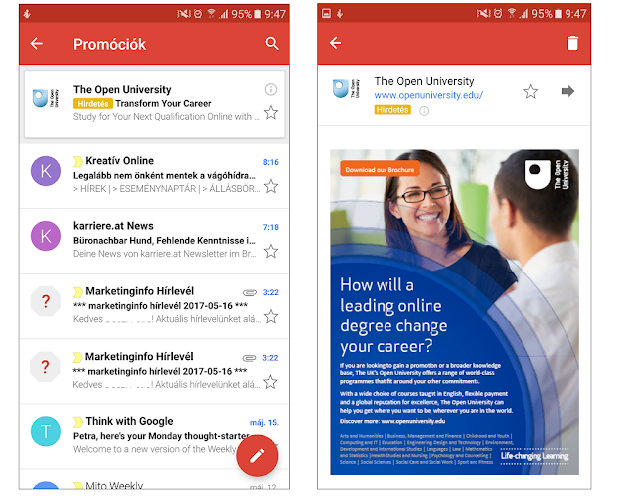 Hogyan tegyük hatékonyabbá Gmail hirdetéseinket?
