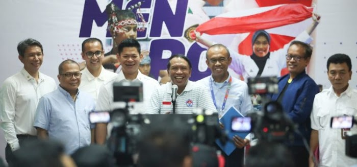 Pada Olimpiade 2020 Menpora Umumkan Rosan Roeslani Sebagai CdM Indonesia