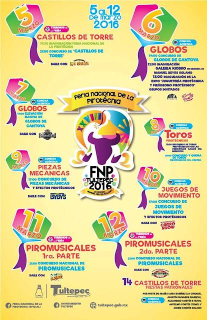 feria pirotecnia 2016 tultepec