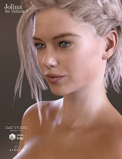 Jolina Character, Clothing and Hair Bundle