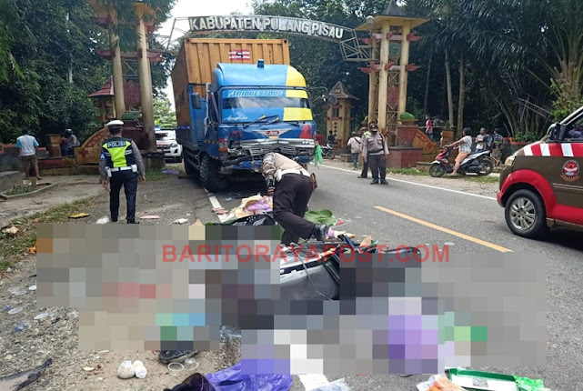 Kecelakaan Maut di Pulang Pisau Tewaskan Pengendara Motor