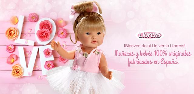 Muñeca bailarina Llorens - Blog Mamá de Noa