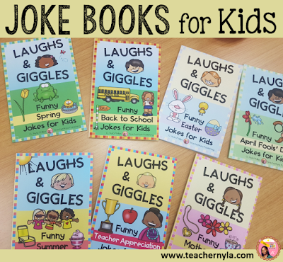 Laughs and Giggles Joke Books for Kids