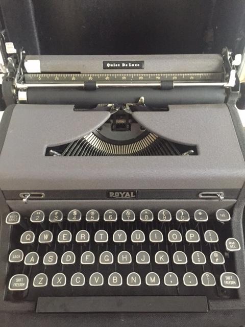 My vintage Royal typewriter - Hello Lovely Studio
