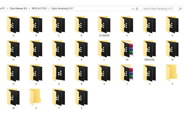Ribuan Style Sampling Untuk Aplikasi Varrangger2 Lengkap Dengan Soundfont Sf2