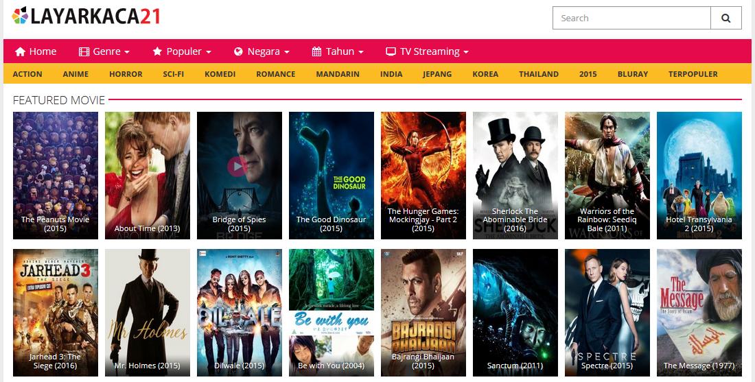 Situs download Film sub indo gratis