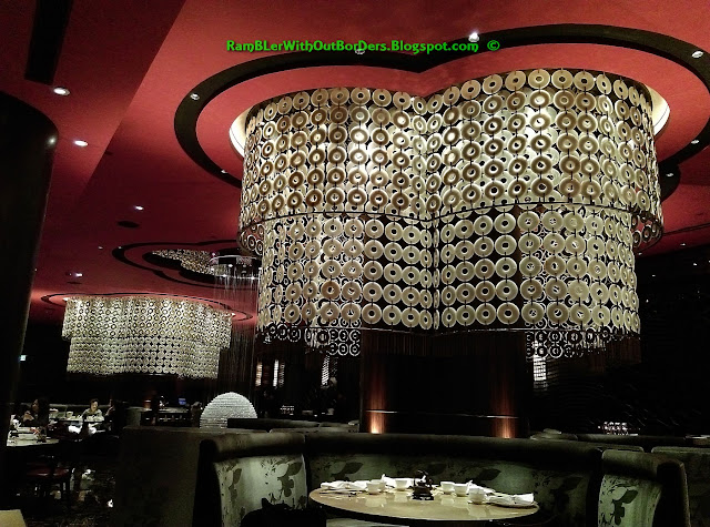 Decor, the Eight Restaurant, Grand Lisboa, Macau