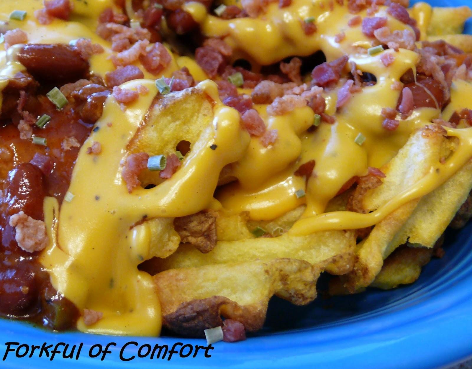 Forkful of Comfort: Beer Cheese Fries