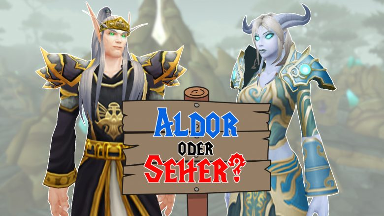 WoW BC Classic: Aldor or Seher - Which faction is better for me?